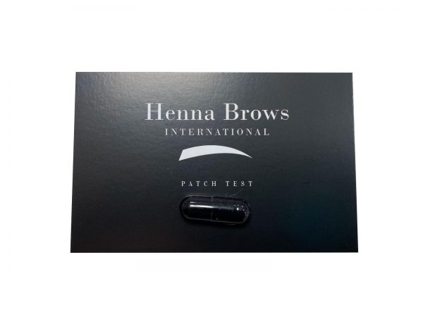 Henna Brows Patch Tests